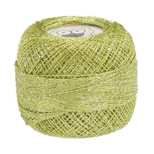 Diva Line Old Ewe Fine Lurex Yeşil Kroşe İpliği - 908