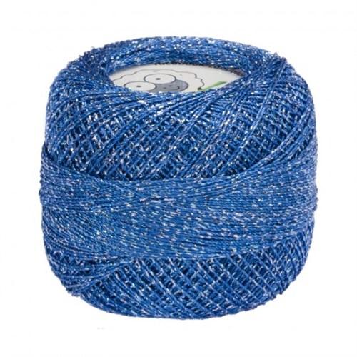 Diva Line Old Ewe Fine Lurex Mavi Kroşe İpliği - 820