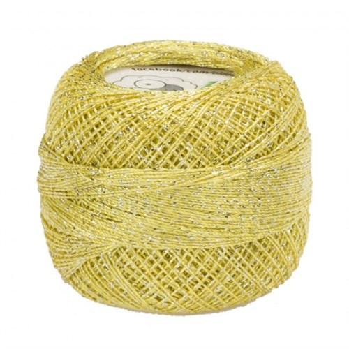 Diva Line Old Ewe Fine Lurex Sarı Kroşe İpliği - 307