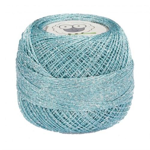Diva Line Old Ewe Fine Lurex Mavi Kroşe İpliği - 345