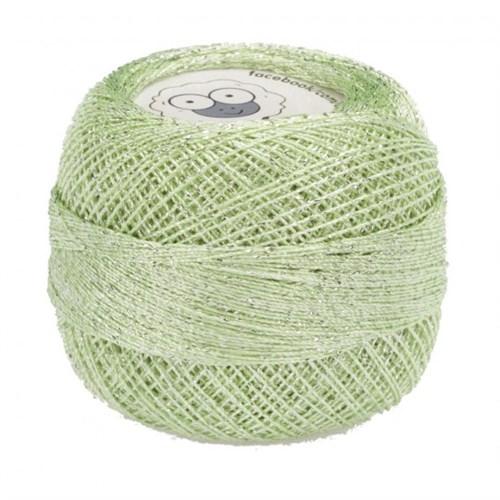 Diva Line Old Ewe Fine Lurex Yeşil Kroşe İpliği - 954
