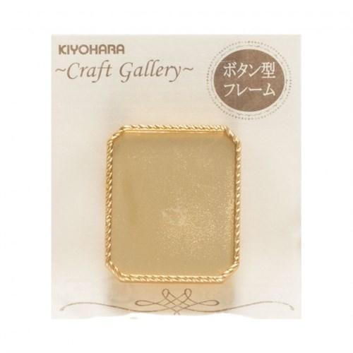 Kiyohara Paper Lamine Altın Sarı Kolye Ucu - Rch-65G