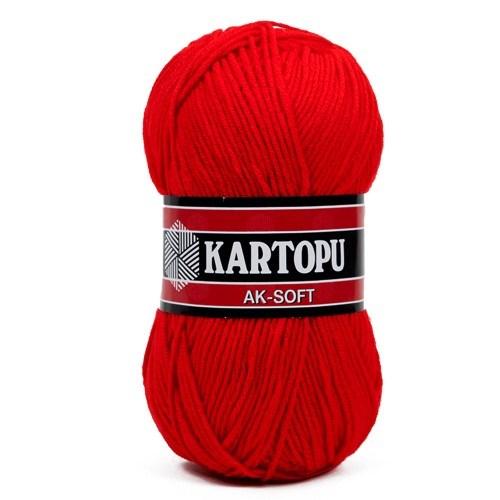 Kartopu Ak-Soft Turuncu El Örgü İpi - K150