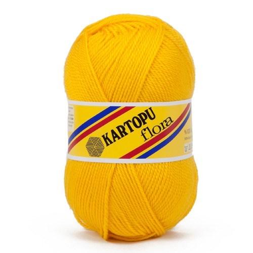 Kartopu Flora Hardal Sarısı El Örgü İpi - K320