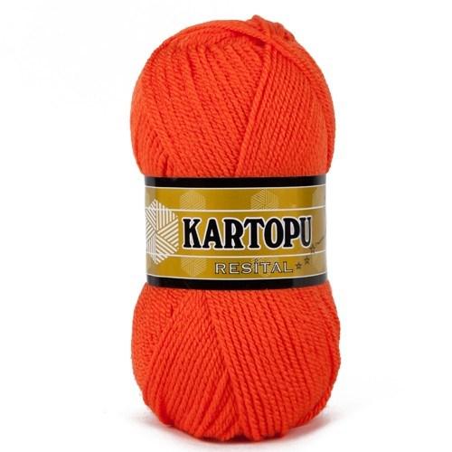 Kartopu Resital Turuncu El Örgü İpi - K210