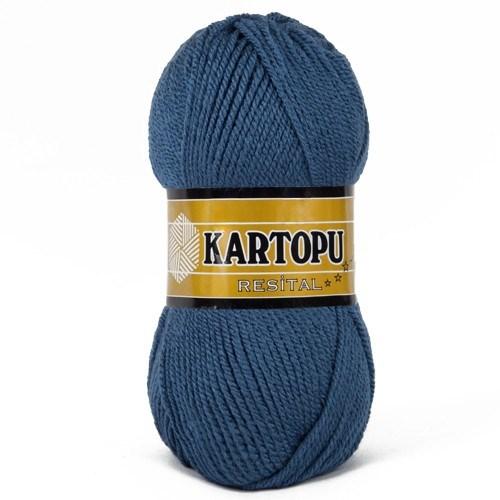 Kartopu Resital Koyu Mavi El Örgü İpi - K650