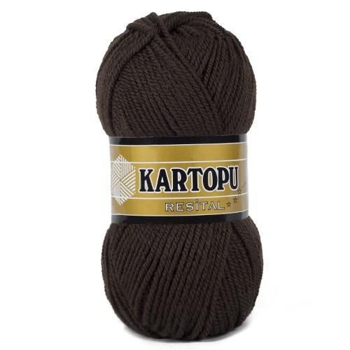 Kartopu Resital Kahverengi El Örgü İpi - K890