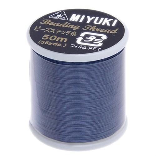 Miyuki Koyu Mavi Naylon Boncuk İpi - 74422020-16