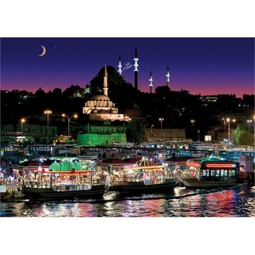 Art Puzzle Eminönü İstanbul (1000 Parça,Neon)