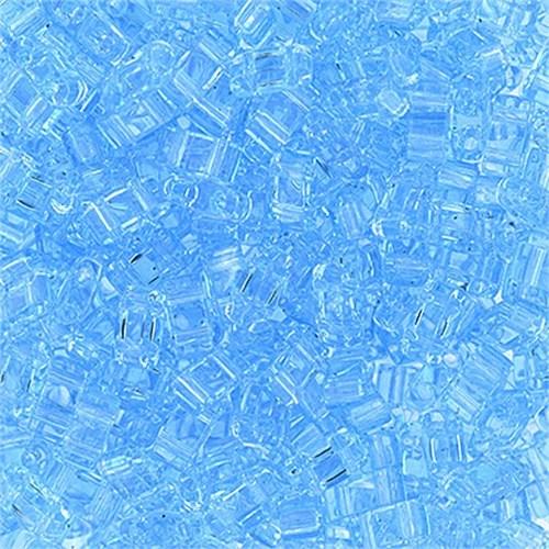 Miyuki Tila Half Cut 5X2.3 Mm 50 Gr. Şeffaf Akuamarin Boncuk - 690Htl0-0148