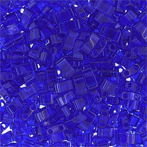 Miyuki Tila Half Cut 5X2.3 Mm 50 Gr. Şeffaf Okyanus Mavisi Boncuk - 690Htl0-0151