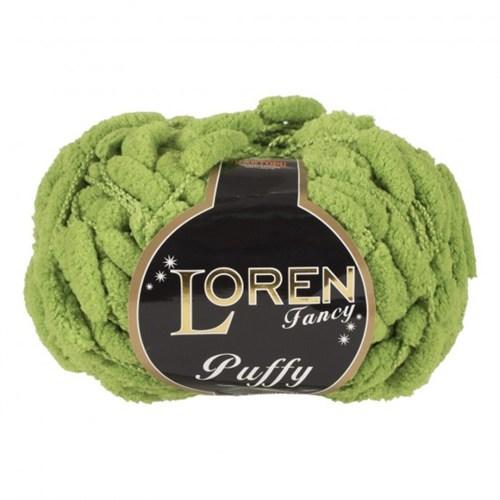 Loren Puffy Yeşil Dut İpi - 12