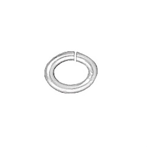 Tierra Cast 25 Adet Gümüş Rengi Oval Takı Halkası - 01-0016-01