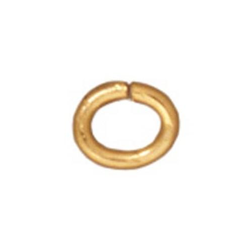 Tierra Cast 25 Adet Altın Rengi Oval Takı Halkası - 01-0016-09