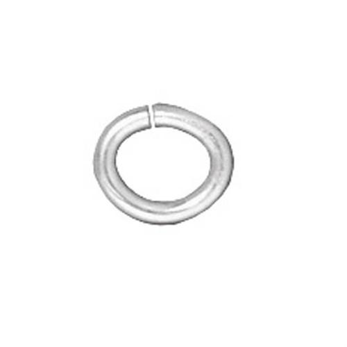 Tierra Cast 25 Adet Gümüş Rengi Oval Takı Halkası - 01-0018-01