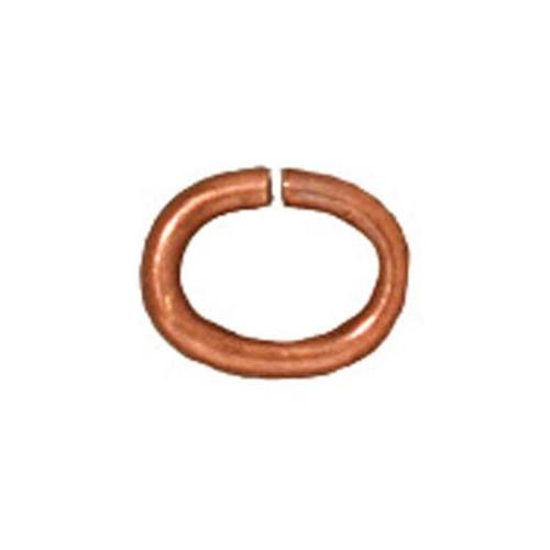 Tierra Cast 25 Adet Bakır Rengi Oval Takı Halkası - 01-0018-08