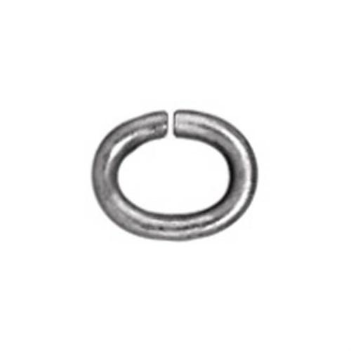 Tierra Cast 25 Adet Gümüş Rengi Oval Takı Halkası - 01-0018-61