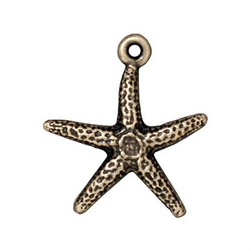 Tierra Cast 1 Adet 20X18.5 Mm Altın Rengi Deniz Yıldızı Takı Aksesuarı - 94-2232-27