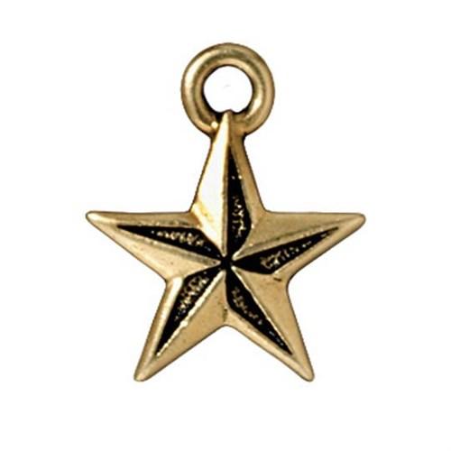 Tierra Cast 1 Adet 18X15 Mm Altın Rengi Yıldız Takı Aksesuarı - 94-2299-26