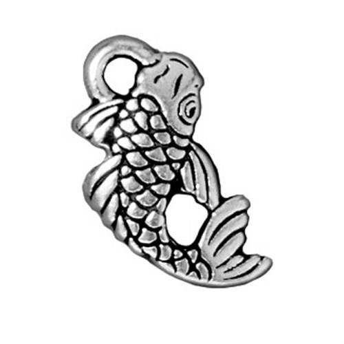 Tierra Cast 1 Adet 18X9.5 Mm Gümüş Rengi Balık Takı Aksesuarı - 94-2306-12