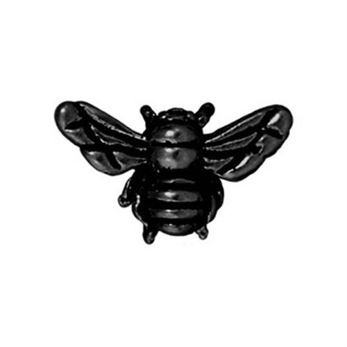 Tierra Cast Metal 1 Adet 9.5X15.75 Mm Siyah Bal Arısı Boncuk - 94-5519-13
