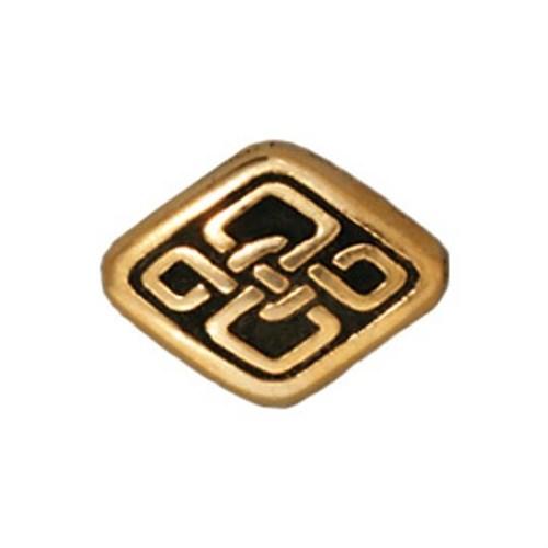Tierra Cast Metal 1 Adet 8.5X11 Mm Altın Rengi Çiçeks Şekilli Boncuk - 94-5526-26