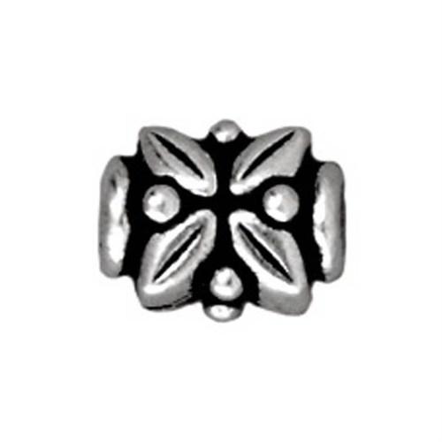 Tierra Cast Metal 1 Adet 6.25X8 Mm Gümüş Rengi Aksesuar Boncuk - 94-5572-12