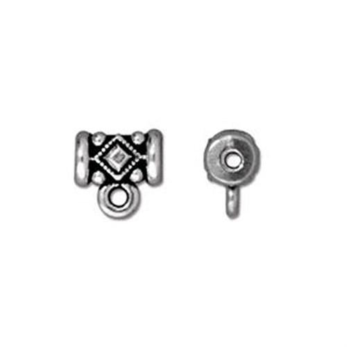 Tierra Cast Noble 1 Adet 8X7.75 Mm Gümüş Rengi Takı Ucu Askı Aparatı - 94-5628-12