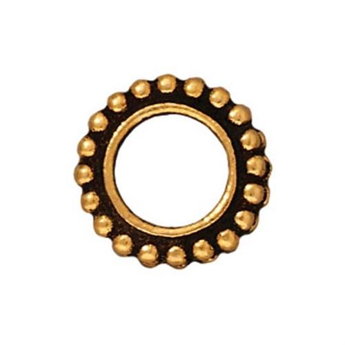 Tierra Cast 1 Adet 11.25X11.25 Mm Altın Rengi Yuvarlak Çerçeve Takı Ara Aksesuarı - 94-5654-26