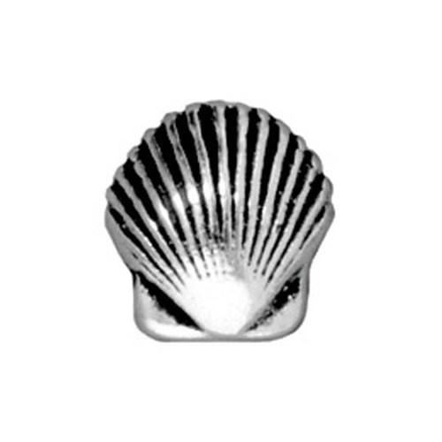 Tierra Cast Metal 1 Adet 9X8.5 Mm Gümüş Rengi Deniz Kabuğu Boncuk - 94-5682-12