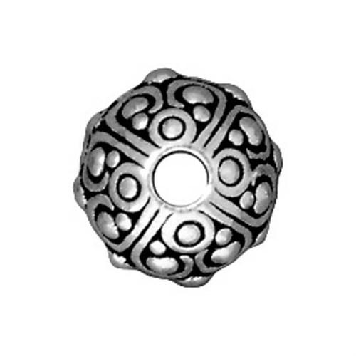 Tierra Cast Metal 1 Adet 7.75X10 Mm Gümüş Rengi Metal Aksesuar Boncuk - 94-5716-12