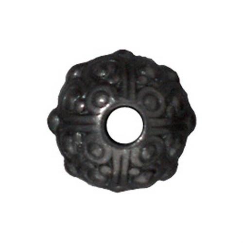 Tierra Cast Metal 1 Adet 7.75X10 Mm Siyah Metal Aksesuar Boncuk - 94-5716-13