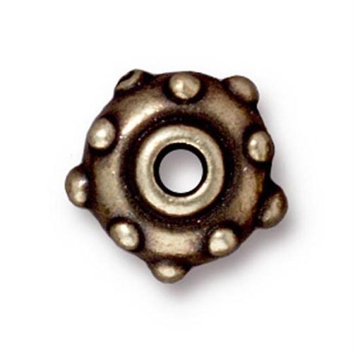 Tierra Cast Metal 1 Adet 5.5X11 Mm Altın Rengi Perçin Metal Aksesuar Boncuk - 94-5745-27