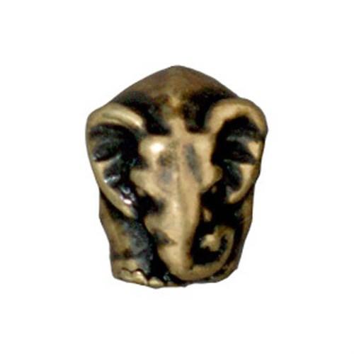 Tierra Cast Metal 1 Adet 12X9.5 Mm Altın Rengi Fil Boncuk - 94-5763-27
