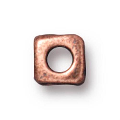 Tierra Cast Metal 1 Adet 5 Mm Bakır Rengi Küçük Küp Aksesuar Boncuk - 94-5788-18