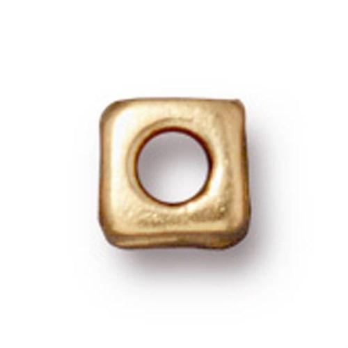 Tierra Cast Metal 1 Adet 5 Mm Altın Rengi Küçük Küp Aksesuar Boncuk - 94-5788-25