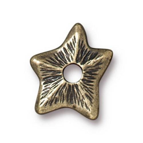 Tierra Cast Rivetable 1 Adet 14.1 Mm Altın Rengi Yıldız Takı Ara Aksesuarı - 94-5798-27