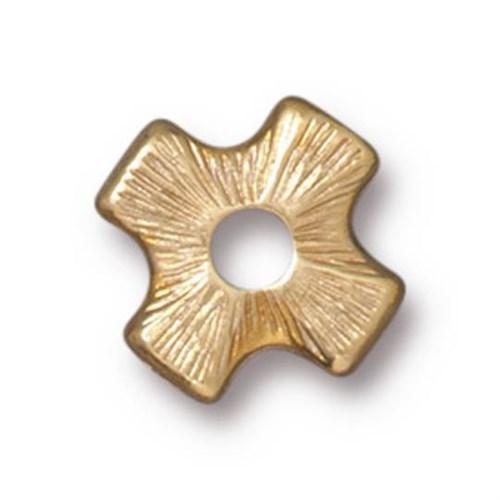Tierra Cast Rivetable 1 Adet 11.0 Mm Altın Rengi Çarpı Takı Ara Aksesuarı - 94-5799-25
