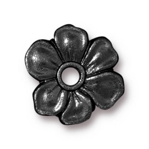 Tierra Cast Rivetable 1 Adet 14 Mm Siyah Çiçek Takı Ara Aksesuarı - 94-5801-13