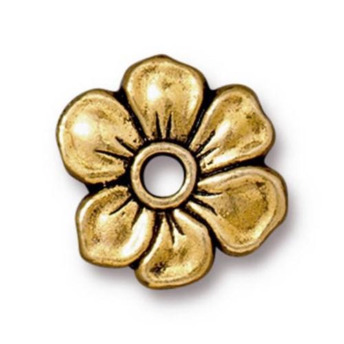 Tierra Cast Rivetable 1 Adet 14 Mm Altın Rengi Çiçek Takı Ara Aksesuarı - 94-5801-26
