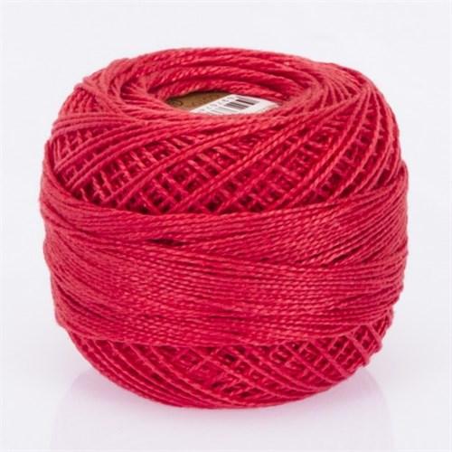 Ören Bayan Koton Perle No:8 Koyu Kırmızı El Nakış İpliği - 108