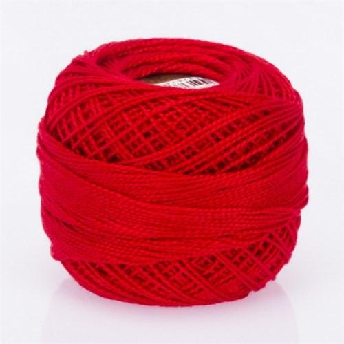 Ören Bayan Koton Perle No:8 Kırmızı El Nakış İpliği - 77