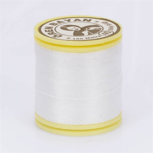 Ören Bayan Beyaz Polyester Dikiş İpliği - Beyaz