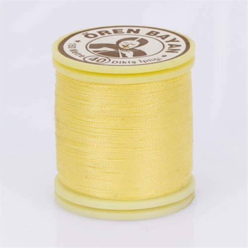 Ören Bayan Sarı Polyester Dikiş İpliği - 535
