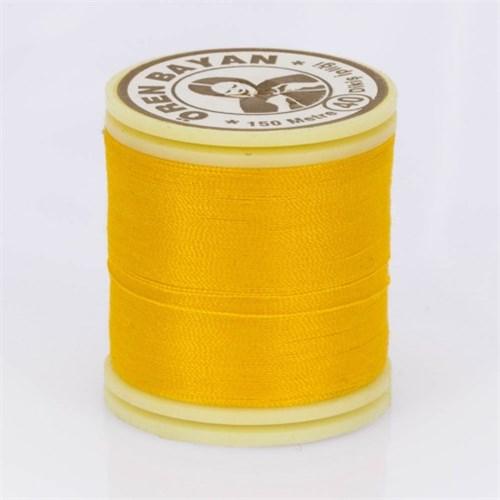 Ören Bayan Hardal Sarı Polyester Dikiş İpliği - 539