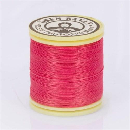 Ören Bayan Koyu Pembe Polyester Dikiş İpliği - 474