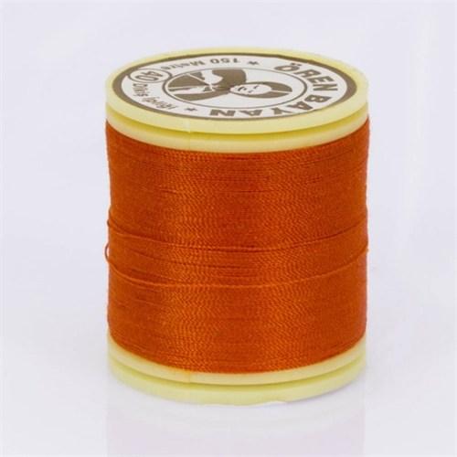 Ören Bayan Koyu Turuncu Polyester Dikiş İpliği - 402