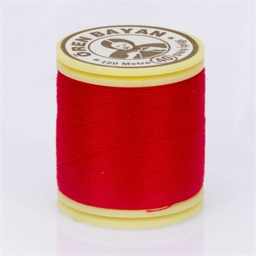 Ören Bayan Kırmızı Polyester Dikiş İpliği - 997