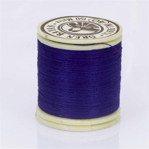 Ören Bayan Çivit Mavi Polyester Dikiş İpliği - 924
