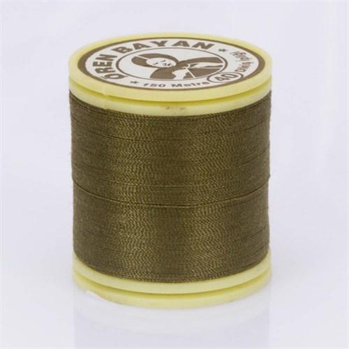 Ören Bayan Zeytin Yeşili Polyester Dikiş İpliği - 624